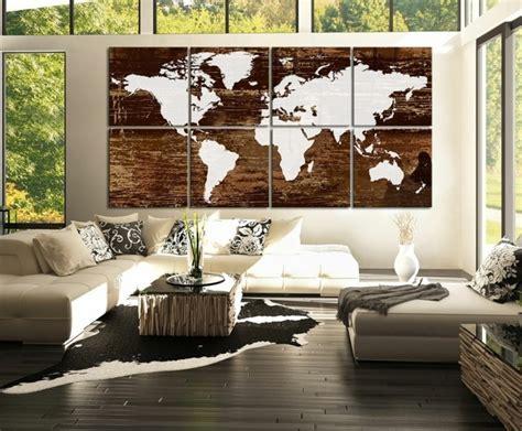 Ausgefallene Wanddeko by Weltkarte Wand 73 Beispiele Dass Weltkarten Dynamik In