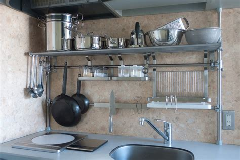 Kitchen Stainless Steel Shelf Decorative Wall Shelves