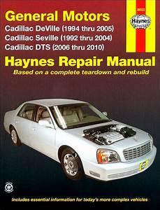 Cadillac Deville  Seville  Dts Repair Manual 1992