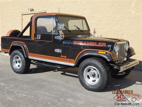 jeep scrambler 1982 1982 jeep cj 8 scrambler