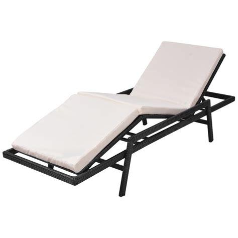 la chaise longue boutique en ligne la boutique en ligne vidaxl chaise longue poly rotin noir vidaxl fr