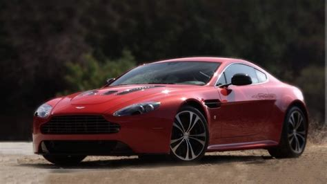 2013 Aston Martin V12 Vantage Driven On Canyon Roads
