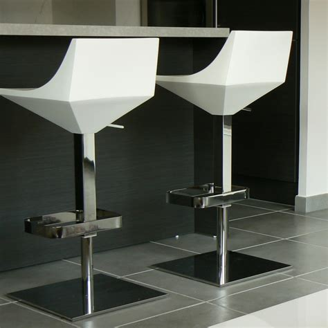 chaise plexi fly fly swivel and adjustable stool by calligaris arredaclick