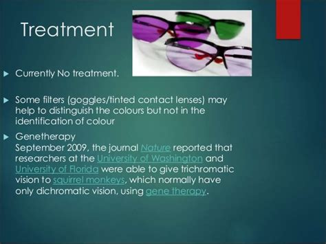 cure for blindness color blindness powerpoint