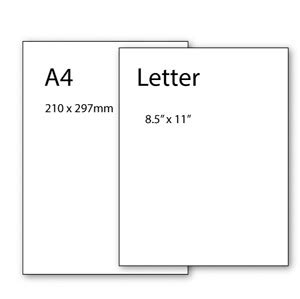 letter page size paper sizes advice rob ives 48700