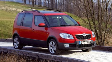 skoda roomster scout  tdi  review  car magazine