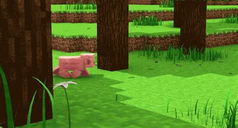 Minecraft Boat Gif by Minecraft Pig Gifs Find On Giphy