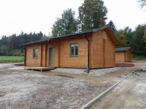 Dokončení chaty a garáže