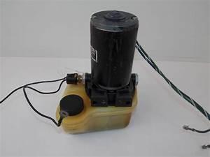 Force L Drive Trim Pump 1990