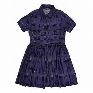 robe chats celine bleu indigo morley mode ado smallable With robe bleu indigo
