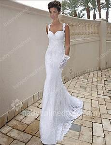 2015 backless wedding dresses sexy strapless applique With wedding dresses for the beach 2015