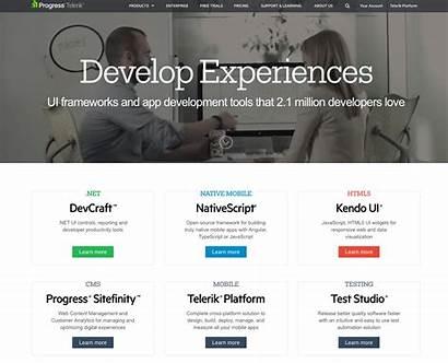 Homepage Website Examples Digital Marketing Telerik Enterprise
