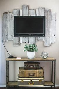Awesome diy frames for your flatscreen tv architecture
