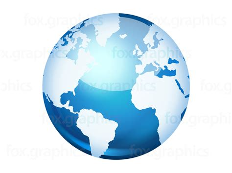 World Globe Images Vector World Globe Icon Fox Graphics