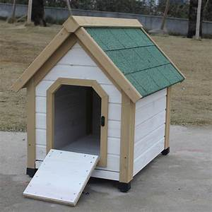 online get cheap wooden dog houses for large dogs With large wooden dog house