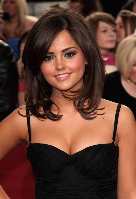 jenna coleman louise doctor cleavage close