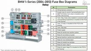 Bmw 1-series  2004-2013  Fuse Box Diagrams