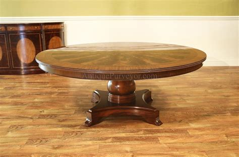 72 pedestal dining table american made 72 inch mahogany pedestal table 7380