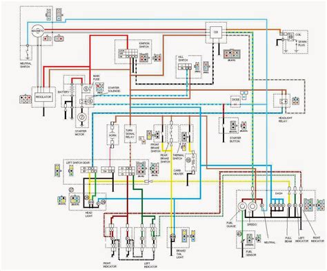Wiring Diagram Yamaha Xt225 by Yamaha Ybr 125 Owner Yamaha Ybr 125 Electrical