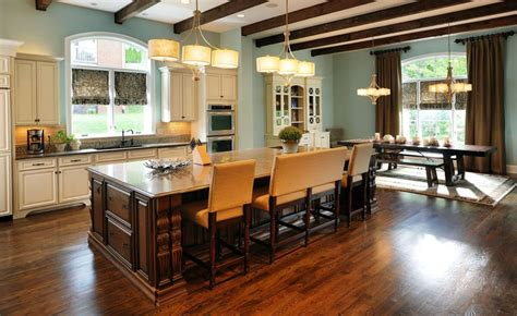 kitchen island bench seating beautiful kitchen islands with bench seating designing idea 4998