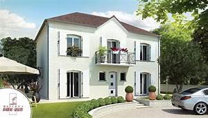 gentilhommiere modele maison etage With charming plan de maison 2 pieces 4 maison babeau seguin