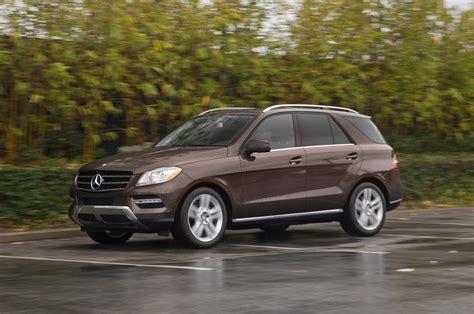 2014 Mercedesbenz Ml350 Bluetec First Test  Motor Trend