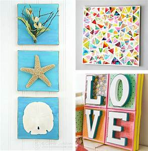 Diy wall art canvas creative and easy