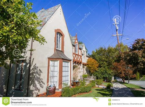 House In A Residential Neighborhood In Oakland, San