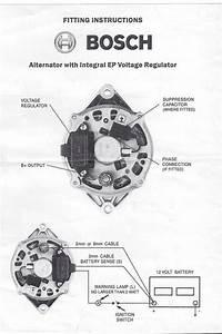 Bosch Internal Regulator Alternator Wiring Diagram  Toyota