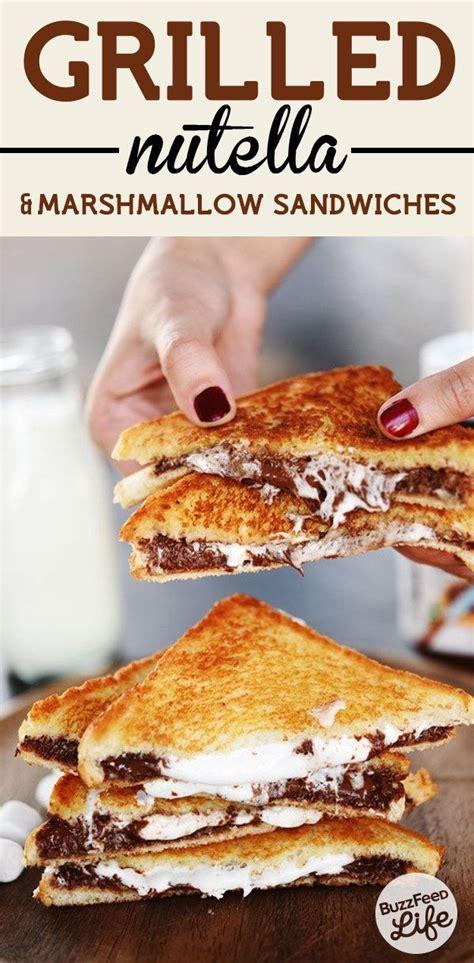 nutella recipes easy desserts 15 recipes to make dessert sandwiches pretty designs
