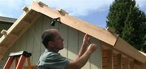 How to Build a Shed, Part 11: Installing Fascia Boards