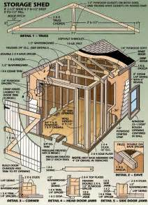 10x14 Shed Plans Pdf by Plans For Shed How To Build Diy By