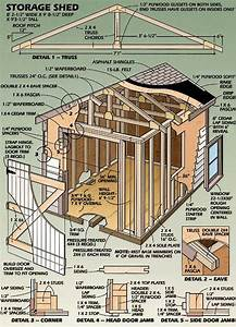 Storage Shed Plans  U2013 Cool Shed Deisgn