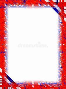 Border: Red White Blue stock illustration. Illustration of ...