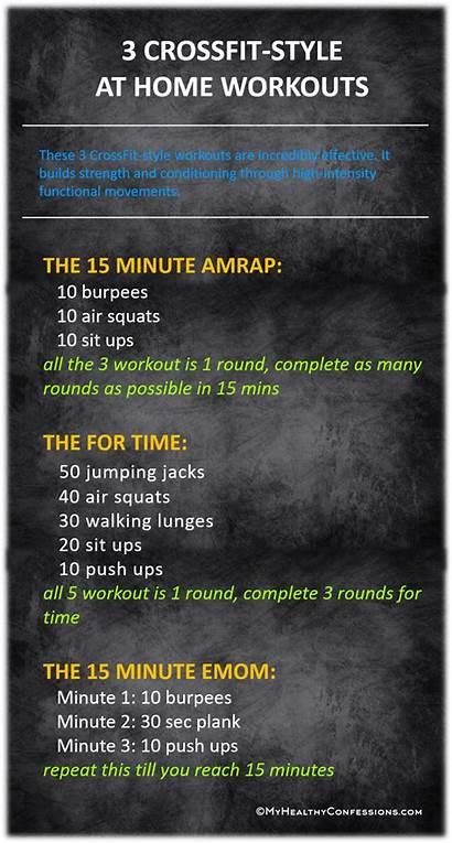 Workout Crossfit Workouts Emom Amrap Wod Cardio
