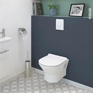 Toilettes Suspendues Grohe : pack wc suspendu b ti universel grohe cuvette idao sans bride plaque blanche oskab ~ Nature-et-papiers.com Idées de Décoration