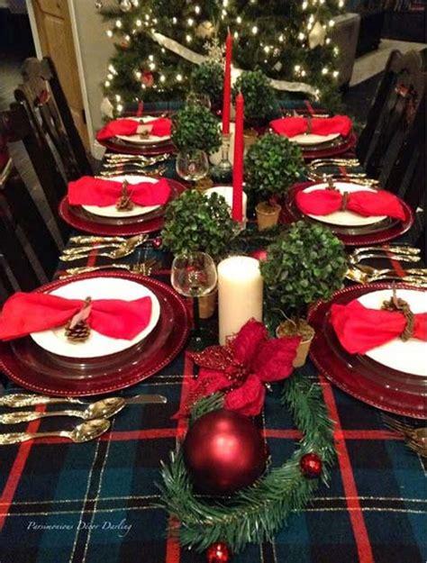 classic christmas tablescape hendrick design co 40 fabulous christmas tablescapes and table
