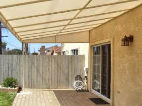 Canvas Awnings Patio Cover