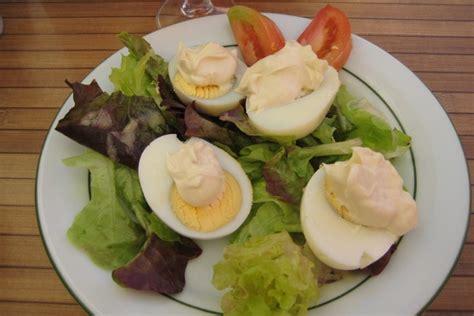 cuisiner des oeufs comment cuisiner des oeufs à la mayonnaise dans maison