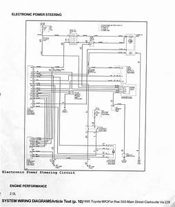 1992 Toyota Mr2 Electrical Wiring Diagram Manual Turbo 2
