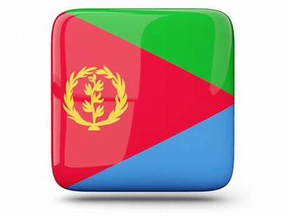 Flag Eritrea Country Glossy Graphics Graafix