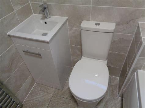 refitted bathroom  space saving vanity basin  stoke