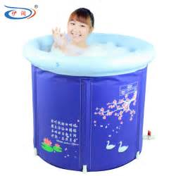 portable bathtub 75cm plus size folding bathtub inflatable