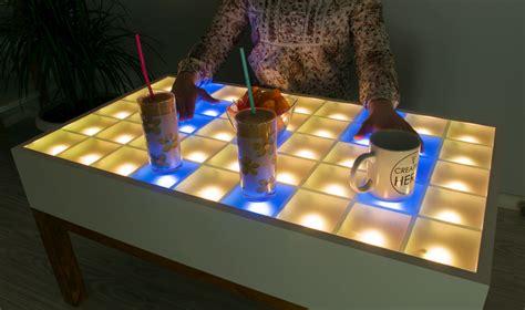livingroom funiture diy led coffee table creativity