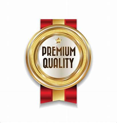 Badge Vector Premium Golden Luxury Vecteezy Vectors