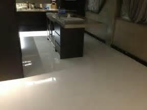 epoxy flooring white metalic epoxy cream houses flooring picture ideas blogule