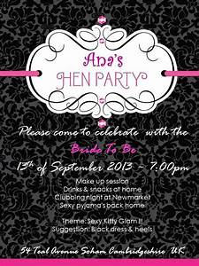 hen night invitation megan hens pinterest With hens night invitation templates