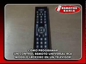 C U00d3mo Programar Un Control Remoto Universal Rca Lrcr3283