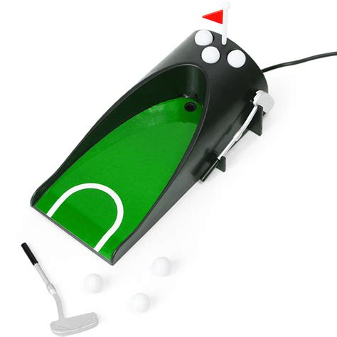 mini golf de bureau usb usb putt returner