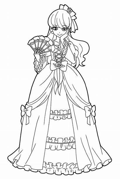 Coloring Precure Pages Mode Kirakira Pretty Yukari